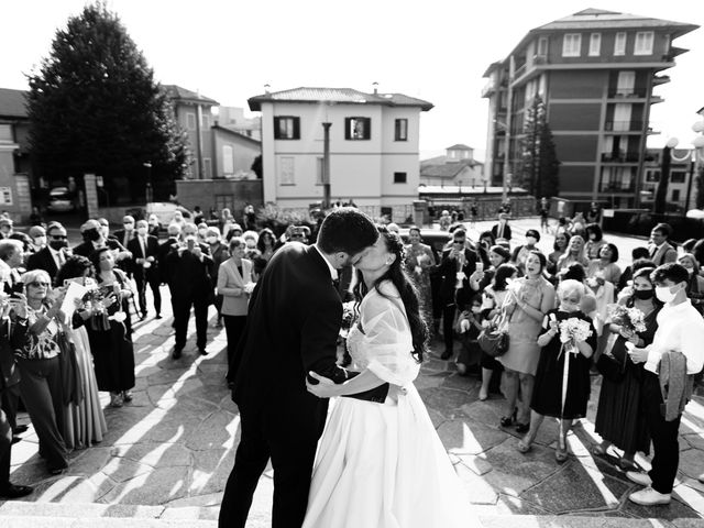 Il matrimonio di Andrea e Alessandra a Cantù, Como 47
