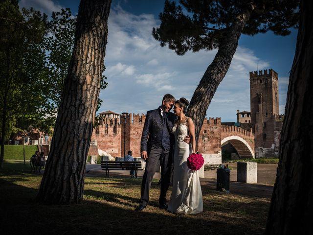 Il matrimonio di Giuseppe e Elisa a Verona, Verona 1