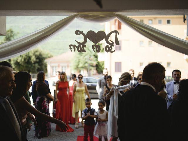 Il matrimonio di Domenico e Carla a Frosinone, Frosinone 30