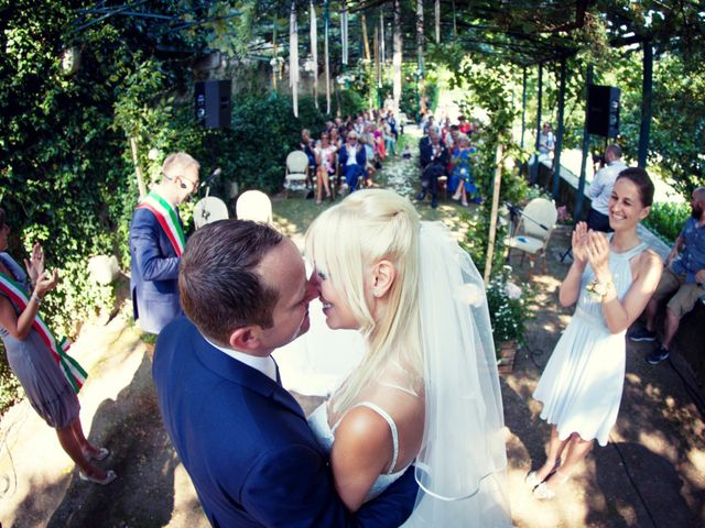 Il matrimonio di Pieter e Janne a Varese, Varese 46