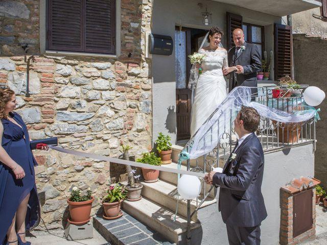 Il matrimonio di Luca e Sarah a Montieri, Grosseto 49