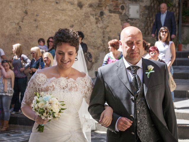 Il matrimonio di Luca e Sarah a Montieri, Grosseto 53