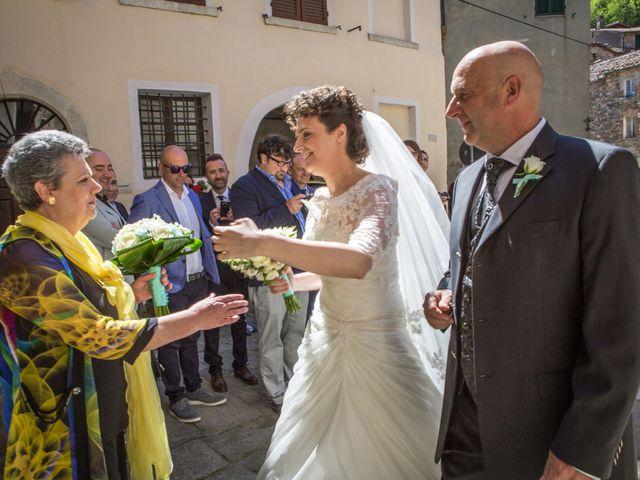 Il matrimonio di Luca e Sarah a Montieri, Grosseto 54