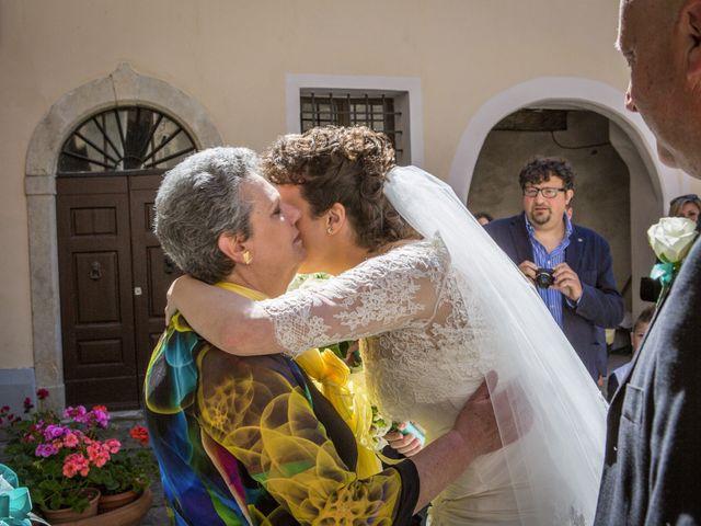 Il matrimonio di Luca e Sarah a Montieri, Grosseto 55