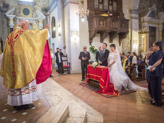 Il matrimonio di Luca e Sarah a Montieri, Grosseto 63