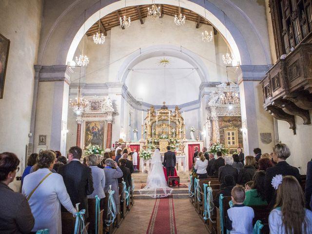 Il matrimonio di Luca e Sarah a Montieri, Grosseto 67