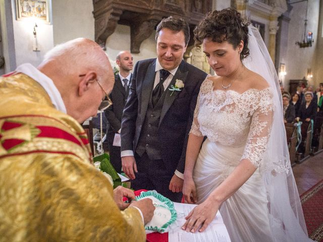 Il matrimonio di Luca e Sarah a Montieri, Grosseto 68