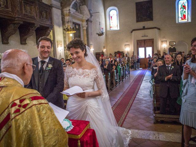 Il matrimonio di Luca e Sarah a Montieri, Grosseto 81