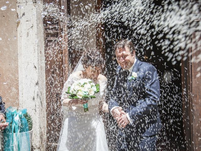 Il matrimonio di Luca e Sarah a Montieri, Grosseto 87
