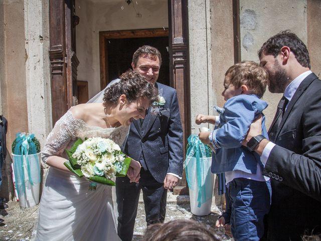 Il matrimonio di Luca e Sarah a Montieri, Grosseto 91