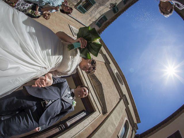 Il matrimonio di Luca e Sarah a Montieri, Grosseto 92