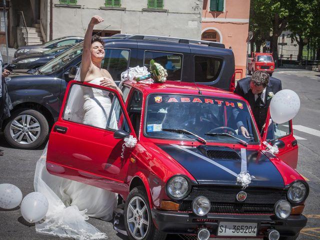 Il matrimonio di Luca e Sarah a Montieri, Grosseto 93
