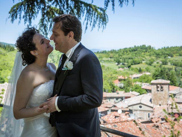 Il matrimonio di Luca e Sarah a Montieri, Grosseto 100