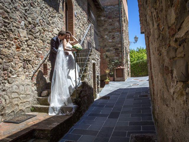 Il matrimonio di Luca e Sarah a Montieri, Grosseto 106