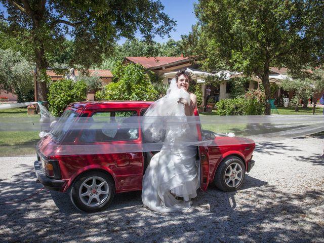 Il matrimonio di Luca e Sarah a Montieri, Grosseto 109