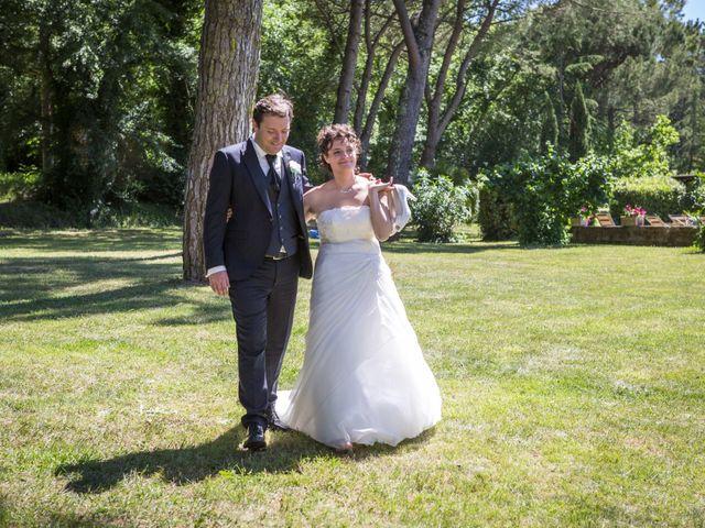 Il matrimonio di Luca e Sarah a Montieri, Grosseto 117