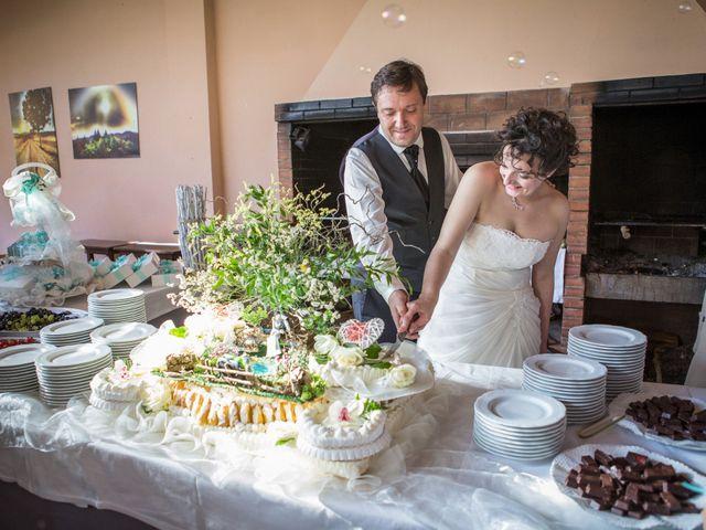 Il matrimonio di Luca e Sarah a Montieri, Grosseto 122