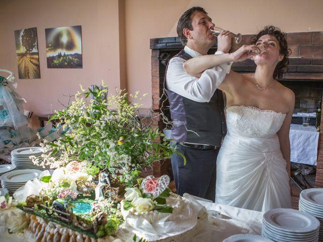 Il matrimonio di Luca e Sarah a Montieri, Grosseto 125