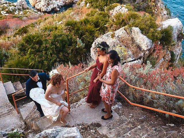 Il matrimonio di Paul e Leah a Castellammare del Golfo, Trapani 68