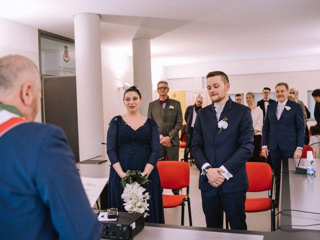 Il matrimonio di Simone e Sara a Covo, Bergamo 32
