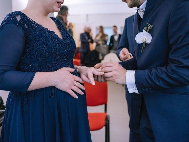 Il matrimonio di Simone e Sara a Covo, Bergamo 37