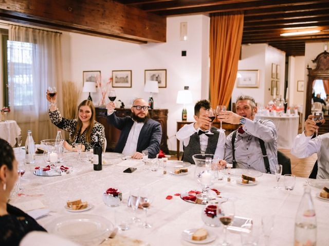 Il matrimonio di Simone e Sara a Covo, Bergamo 108