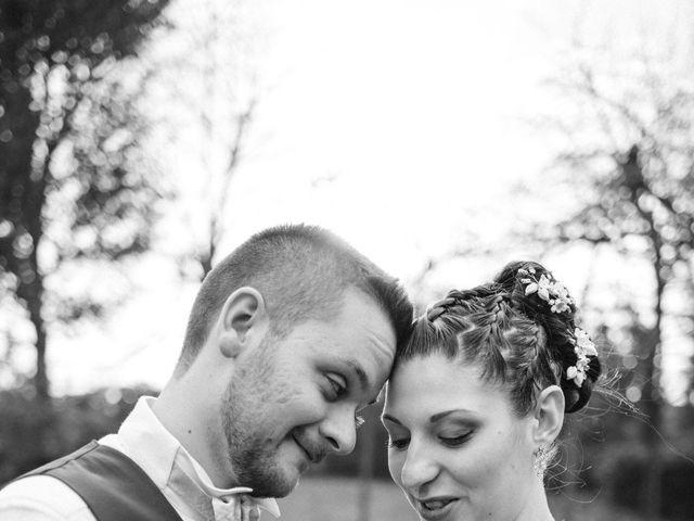 Il matrimonio di Simone e Sara a Covo, Bergamo 123