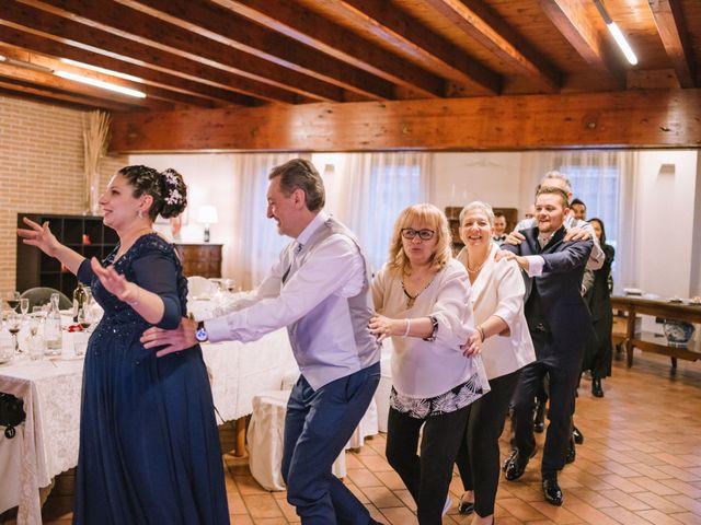 Il matrimonio di Simone e Sara a Covo, Bergamo 142