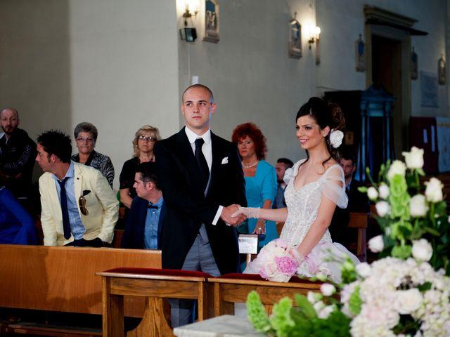 Il matrimonio di Emanuele e Sabrina a Rosignano Marittimo, Livorno 37