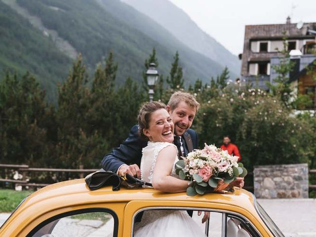 Il matrimonio di Diego e Silvia a Cogne, Aosta 24