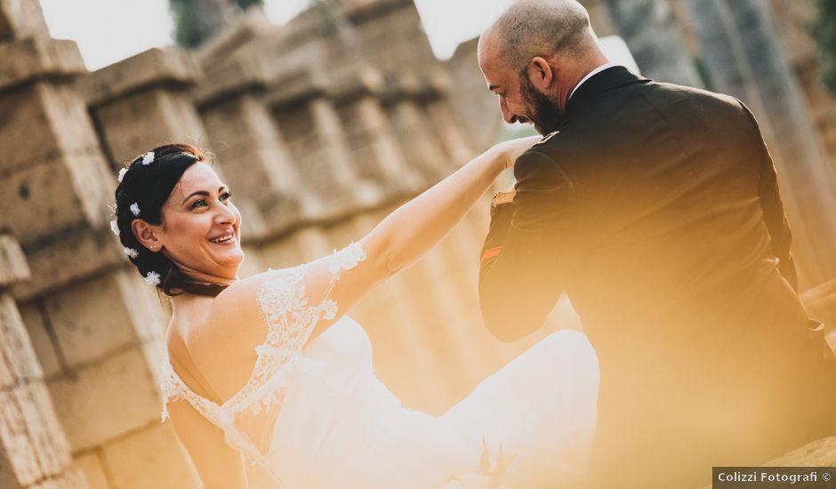 Il matrimonio di Luciano e Valentina a Cerveteri, Roma