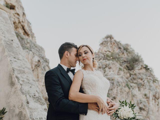 Il matrimonio di Calogero e Elena a Salemi, Trapani 86