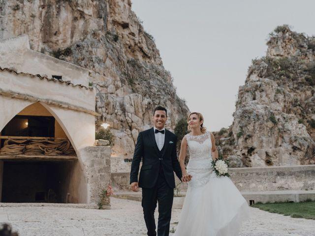 Il matrimonio di Calogero e Elena a Salemi, Trapani 99