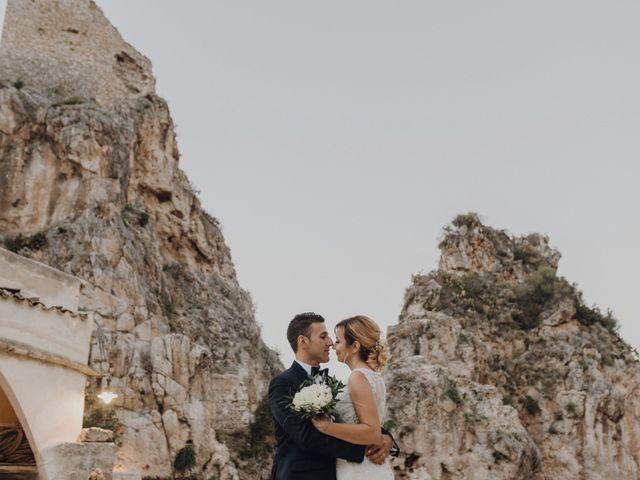 Il matrimonio di Calogero e Elena a Salemi, Trapani 100