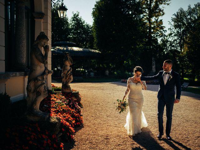 Il matrimonio di Mattia e Fabiola a Briosco, Monza e Brianza 74