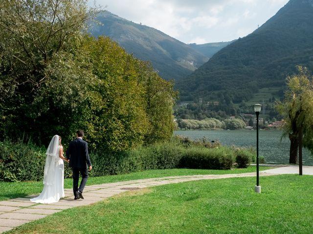 Il matrimonio di Eugenio e Chiara a Spinone al Lago, Bergamo 19