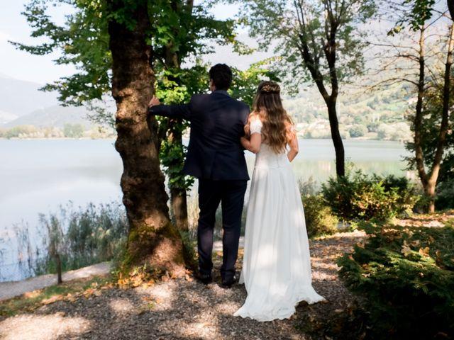 Il matrimonio di Eugenio e Chiara a Spinone al Lago, Bergamo 33