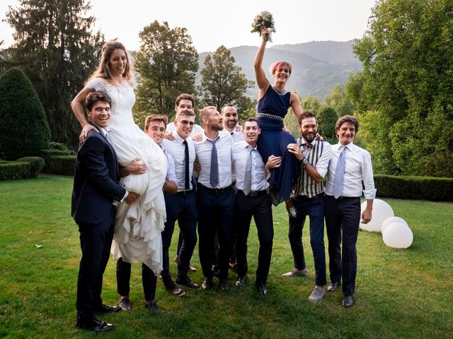 Il matrimonio di Eugenio e Chiara a Spinone al Lago, Bergamo 39