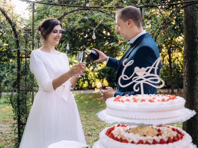Il matrimonio di Alessandro e Claudia a Nerviano, Milano 89