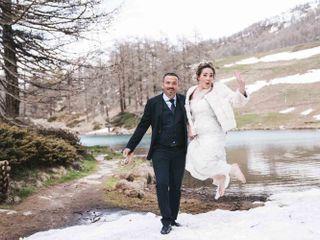 Le nozze di Roza e Cédric
