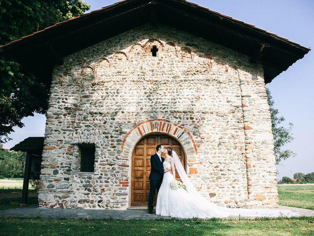 Il matrimonio di Luca e Susanna a Mathi, Torino 17