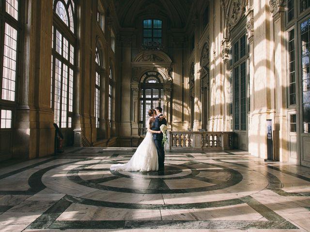 Il matrimonio di Luca e Susanna a Mathi, Torino 1