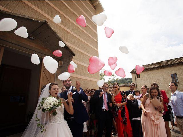 Il matrimonio di Filippo e Veronica a Mombaroccio, Pesaro - Urbino 18