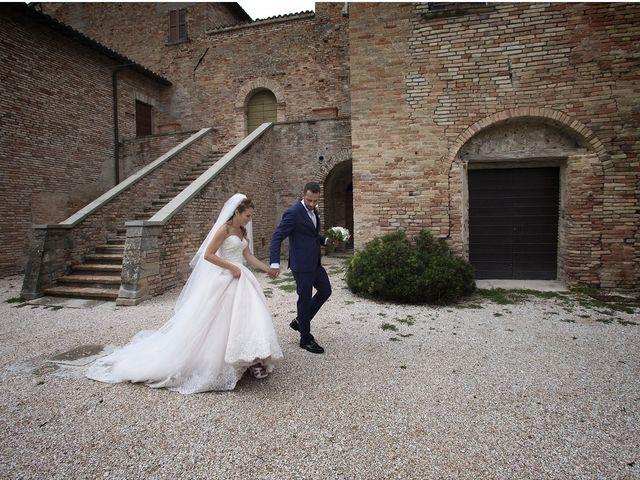 Il matrimonio di Filippo e Veronica a Mombaroccio, Pesaro - Urbino 22