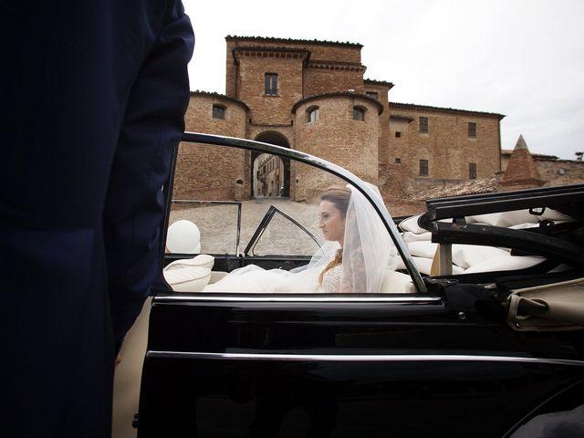 Il matrimonio di Filippo e Veronica a Mombaroccio, Pesaro - Urbino 27