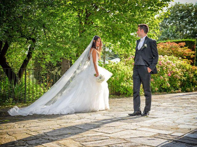 Il matrimonio di Alessandro e Silvia a Turate, Como 16