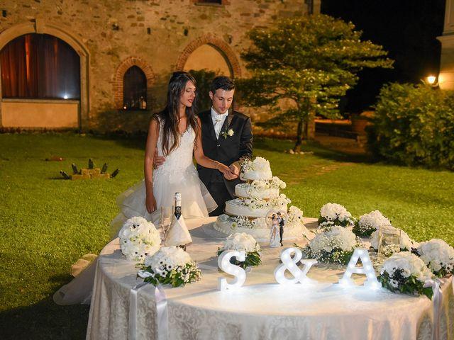 Il matrimonio di Alessandro e Silvia a Turate, Como 34