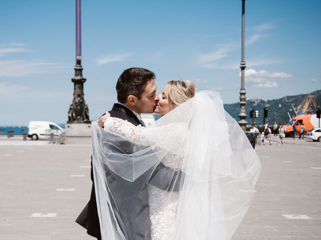 Il matrimonio di Angelo e Elena a Duino-Aurisina, Trieste 3