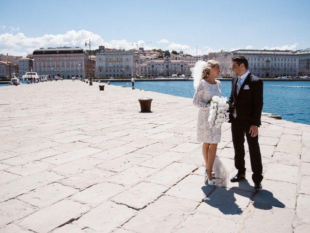Il matrimonio di Angelo e Elena a Duino-Aurisina, Trieste 16