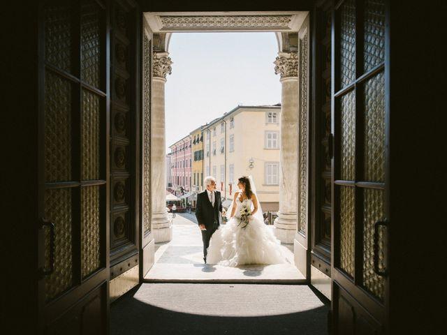 Il matrimonio di Lorenzo e Elisa a Massa, Massa Carrara 11